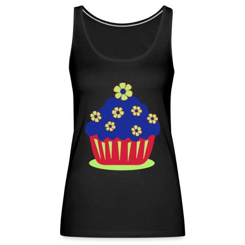 Blumencupcake - Frauen Premium Tank Top