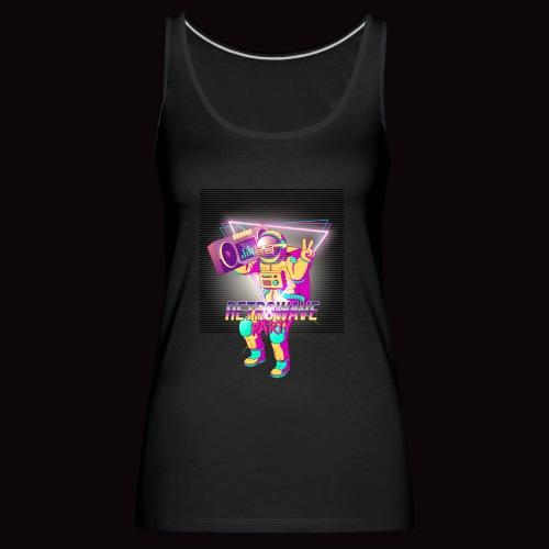 retro espacio - Camiseta de tirantes premium mujer