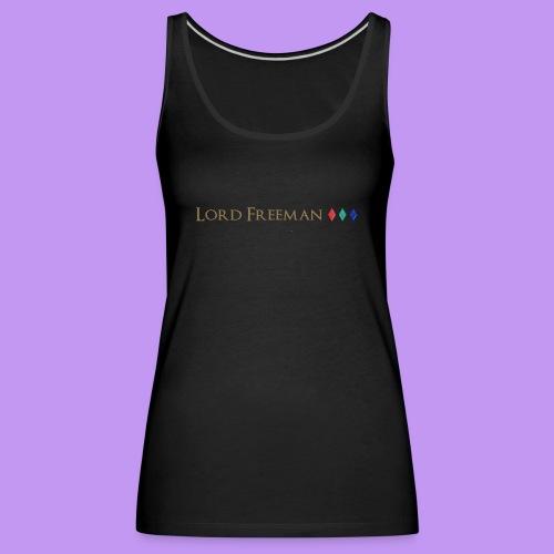 Lord Freeman Logo - Women's Premium Tank Top