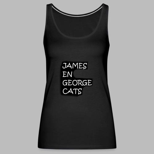 James en George (Limited Edition!) - Vrouwen Premium tank top