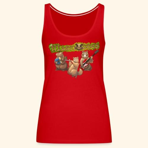Tshirt groupe - Débardeur Premium Femme