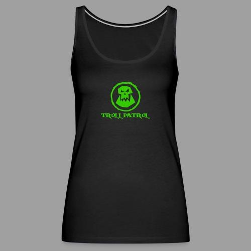 Troll Patrol Logo 2 - Women's Premium Tank Top