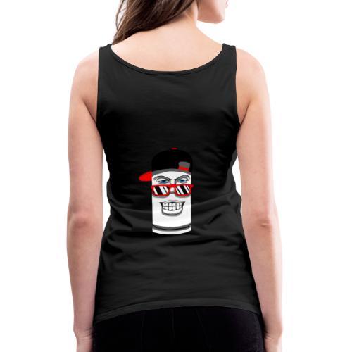 bullet - Camiseta de tirantes premium mujer
