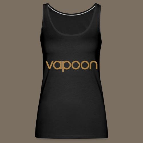 Vapoon Logo simpel 01 - Frauen Premium Tank Top