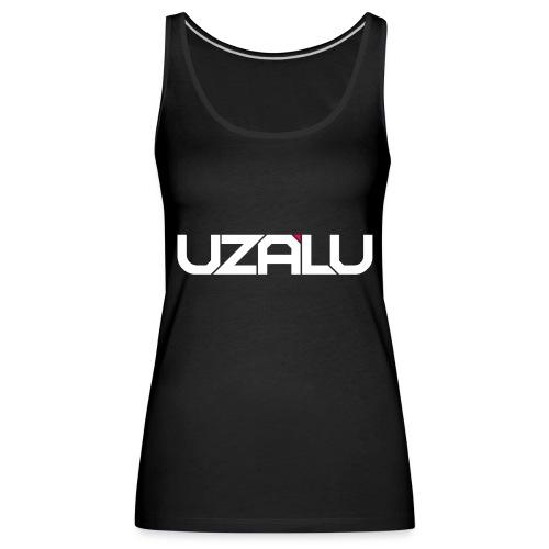 uzalu Text Logo - Women's Premium Tank Top