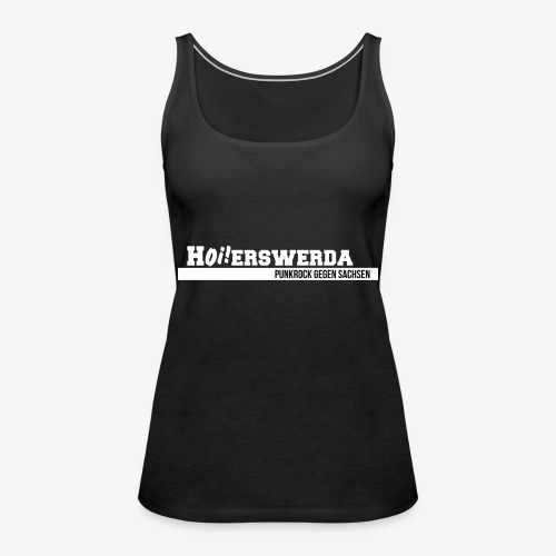 Logo Hoierswerda transparent - Frauen Premium Tank Top
