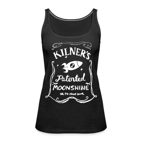 Kilner's Patented Moonshine (White) - Women's Premium Tank Top