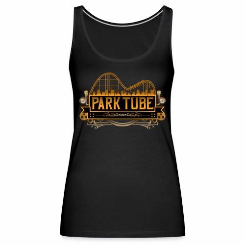 ParkTube Steampunk Logo - Frauen Premium Tank Top