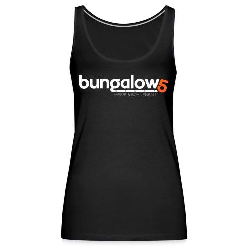 logo bungalow5 2016 over - Frauen Premium Tank Top
