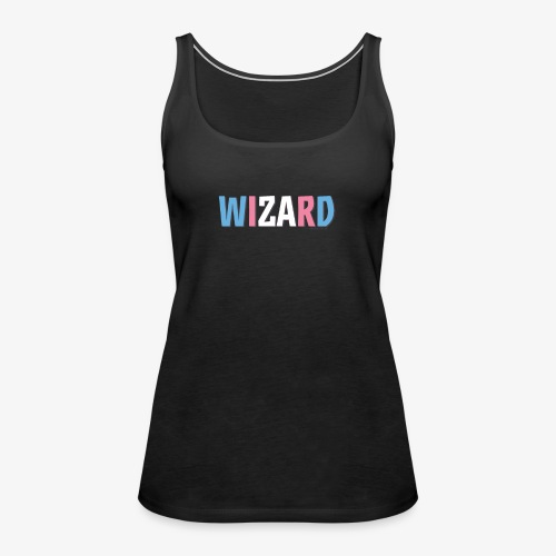 Pride (Trans) Wizard - Women's Premium Tank Top
