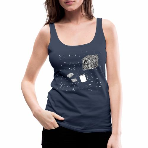 Borg tea and biscuits - Women's Premium Tank Top