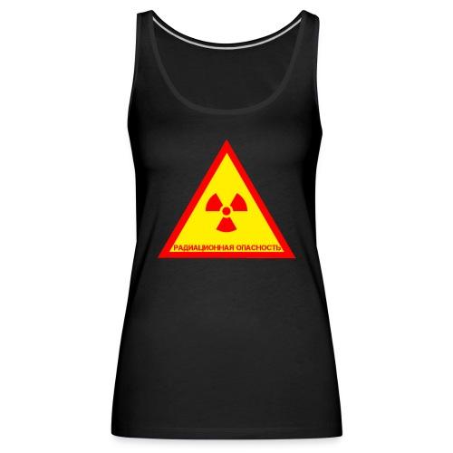 Achtung Radioaktiv Russisch - Frauen Premium Tank Top