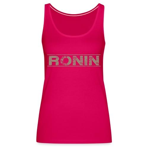 RONIN streetwear V00 - Débardeur Premium Femme