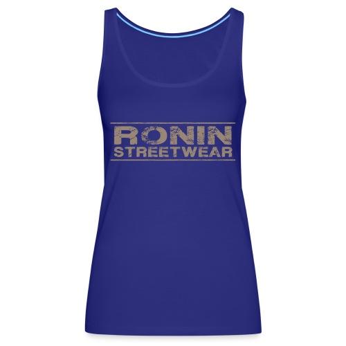 RONIN streetwear V03 - Débardeur Premium Femme