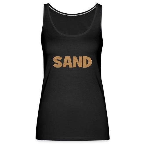 Sand Strand T-Shirt - Frauen Premium Tank Top