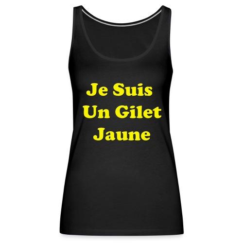 Gilet Jaune - Débardeur Premium Femme