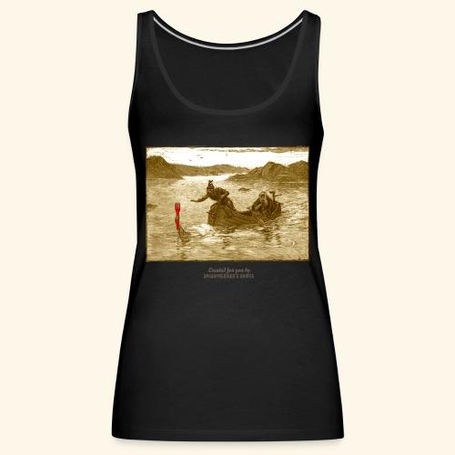Geek T Shirt Excalibur 2.0 - Frauen Premium Tank Top