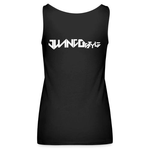 HARD UNITED JUANJOSTYLE - Camiseta de tirantes premium mujer