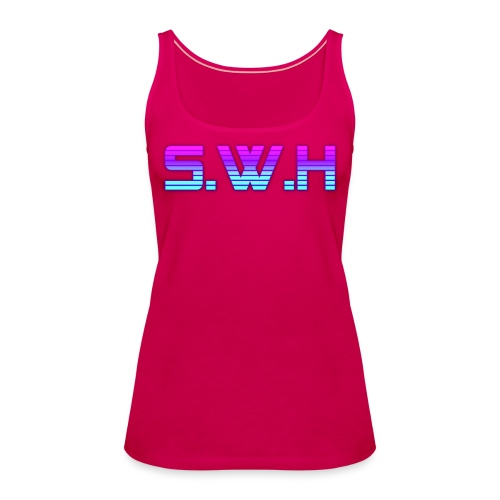 SWH Virtual Reality Logo - Women's Premium Tank Top