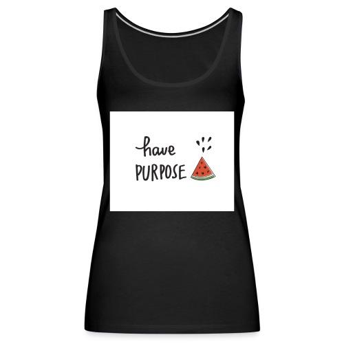 Purpose - Women's Premium Tank Top