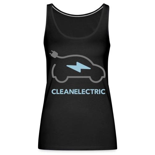 CLEANELECTRIC Logo - Frauen Premium Tank Top