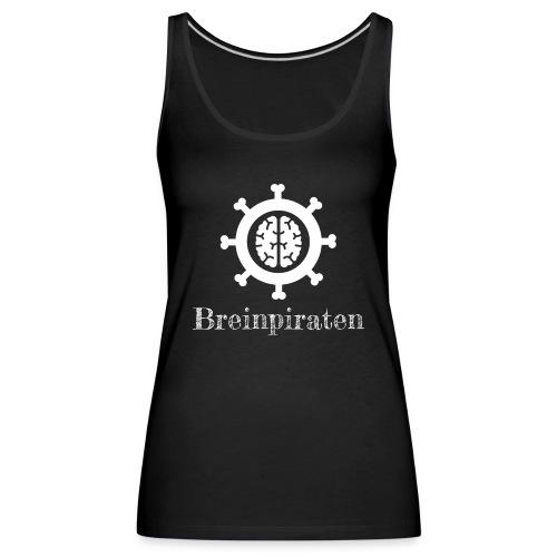 Breinpiraten logo - Vrouwen Premium tank top