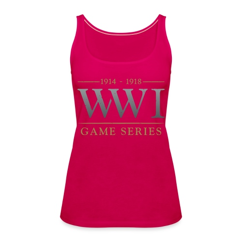 WW1 Game Series Logo - Vrouwen Premium tank top