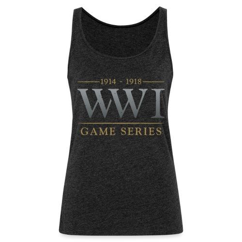 WW1 Game Series Logo - Vrouwen Premium tank top