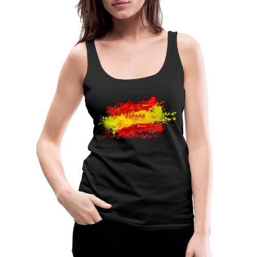 España - Camiseta de tirantes premium mujer