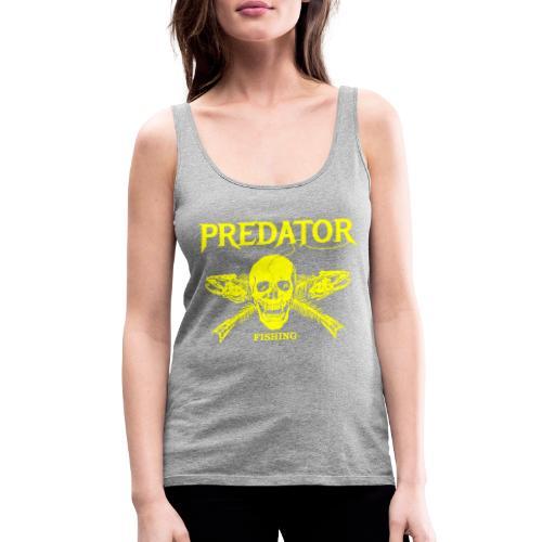 Predator fishing yellow - Frauen Premium Tank Top