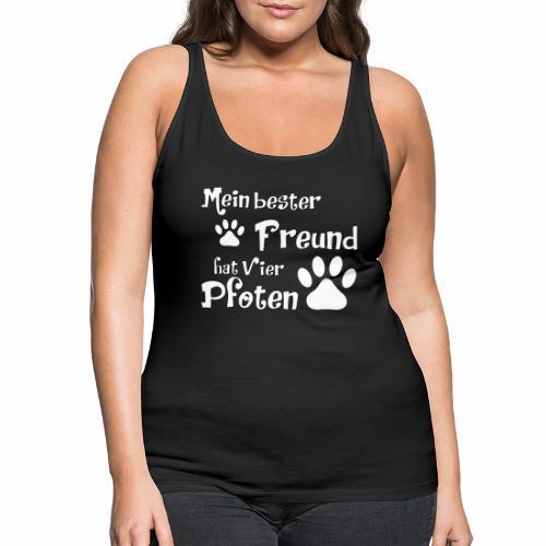 Mein bester Freund hat vier Pfoten - Katze - Frauen Premium Tank Top