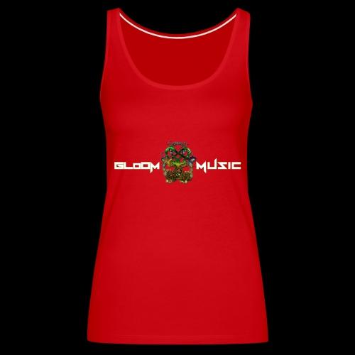 Totemic Unit design Front and Back - Women's Premium Tank Top