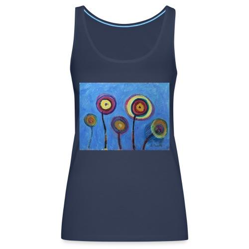 Blue flower - Canotta premium da donna