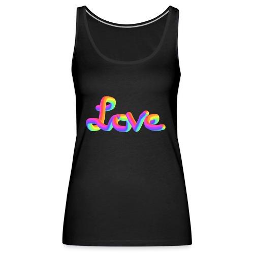 love - Women's Premium Tank Top