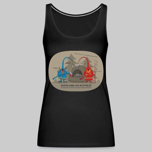 VJocys Santa Blue - Women's Premium Tank Top