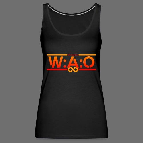 W:A:O We Are One - Frauen Premium Tank Top