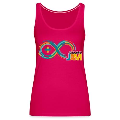 T-shirt Arduino-Jam logo - Women's Premium Tank Top