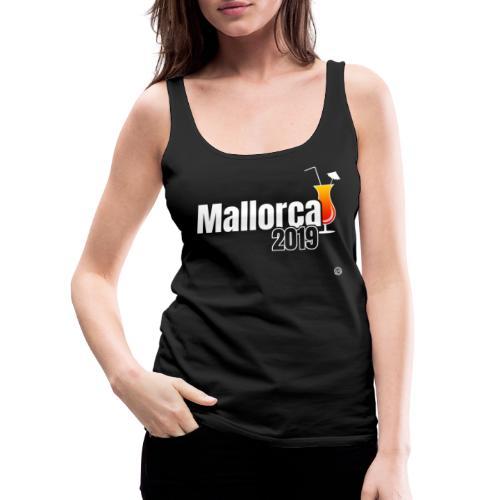 MALLE 2019 Cocktail Shirt - Mallorca Shirt - Vrouwen Premium tank top
