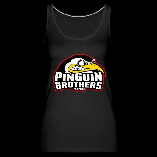 Pinguin bracia Clan - Tank top damski Premium