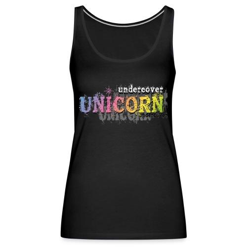 Undercover Unicorn - Débardeur Premium Femme