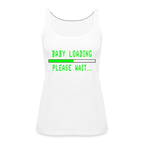 Baby Loading - Naisten premium hihaton toppi