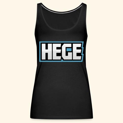 Hegeblau - Frauen Premium Tank Top
