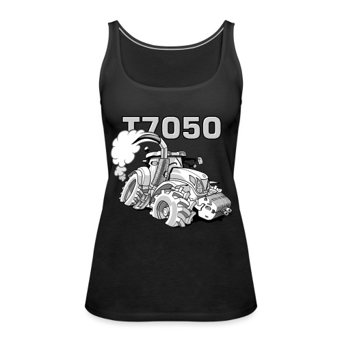 0846 NH T7050 gray - Vrouwen Premium tank top
