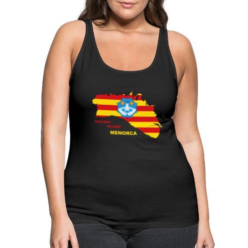 Menorca Urlaub Insel Spanien Balearen - Frauen Premium Tank Top