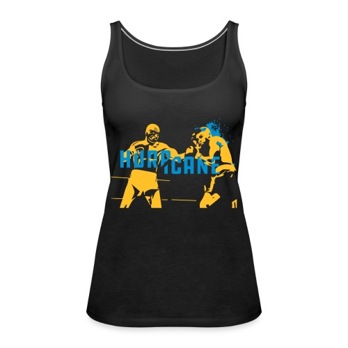 boxing tribute to boxer Hurricane - Tank top damski Premium