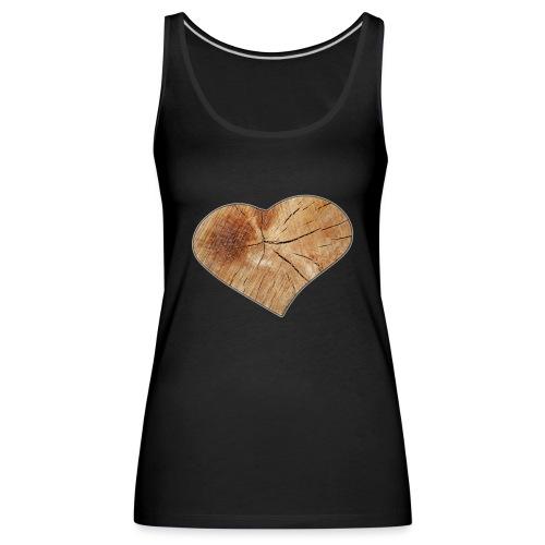 Heart_Wood_Isle - Women's Premium Tank Top