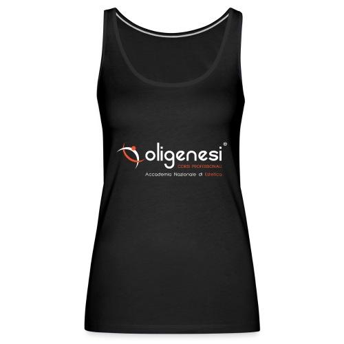 Oligenesi: Corsi di Estetica - Canotta premium da donna