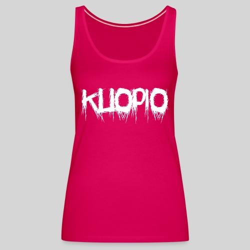 Kuopio - Naisten premium hihaton toppi