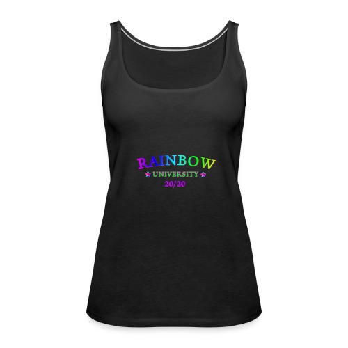 RAINBOW UNIVERSITY AGENDA 20/20 LGBTQIA - Frauen Premium Tank Top