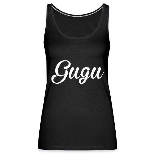 Gugu - Camiseta de tirantes premium mujer